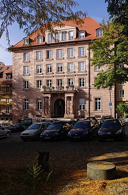 Egidienplatz in Nürnberg