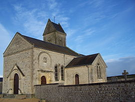 The church in Fresney-le-Vieux