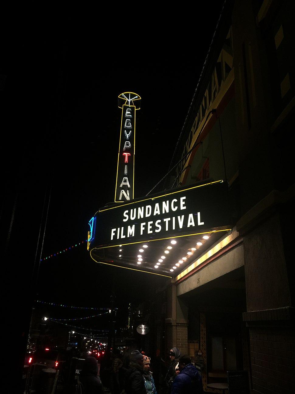 Egyptian Theater during Sundance 2018