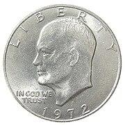 Eisenhower dollar obverse1