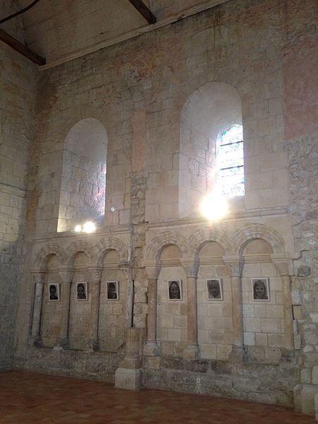 Elévation intérieure de la chapelle.