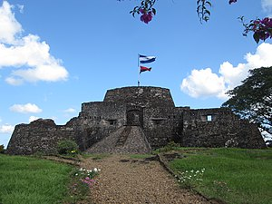 Piracy on Lake Nicaragua - The Fortress of the Immaculate Conception in February 2011.