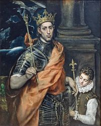El Greco: Saint Louis, King of France