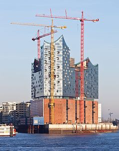 Elbphilharmonie in Hamburg, Germany