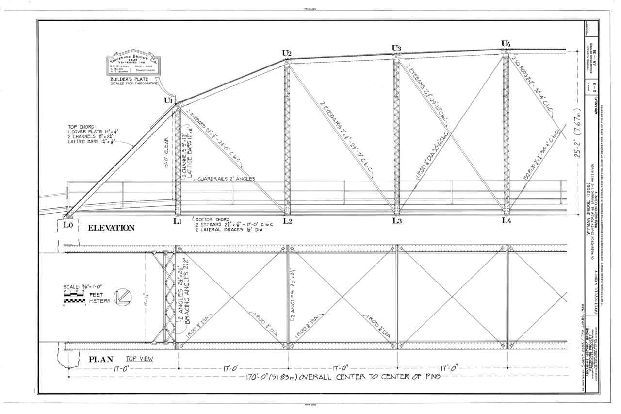 Elevation Plan Wiki : File elevation and plan wyman bridge spanning west fork