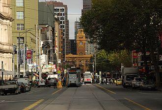 Elizabeth Street, Melbourne - Image: Elizabeth St Melbourne 2010