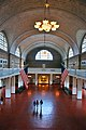 Ellis island immigration museum hall.JPG