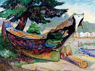 Indian War Canoe