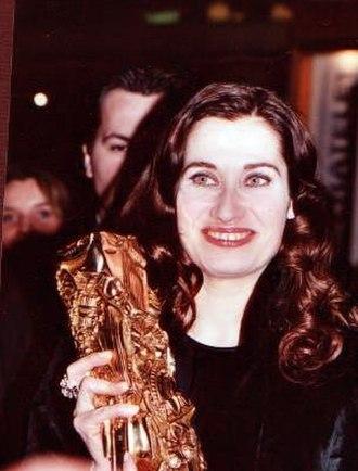 27th César Awards - Emmanuelle Devos, Best Actress winner