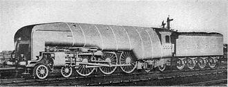 LNER Class W1 - Image: Engine 10000 (Wonder Book of Engineering Wonders, 1931)