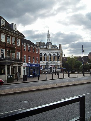 Clarence Street and The Town Hall