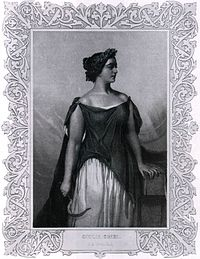 "Engraved portrait of opera singer Giulia Grisi, dressed to perform ""Norma"" (1844).jpg"