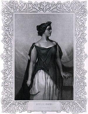 Don Pasquale - Giulia Grisi, 1844