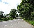 Entering the A 4080 at Llangeinwen - geograph.org.uk - 850297.jpg