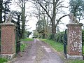 Entrance to Rockbeare Manor - geograph.org.uk - 143954.jpg