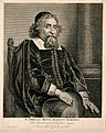 Ephraim Bonus. Engraving by J. Lievens after himself. Wellcome V0000660.jpg