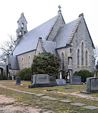 Episcopal Church of the Nativity (Union, South Carolina) - Image: Episcopal Church of the Nativity