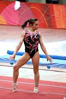 Erika Fasana Wearing A Leotard 2010