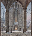 Ernst Ferdinand Oehme - Cathedral in Winter - Google Art Project.jpg