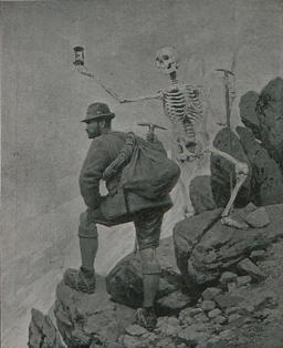 Ernst Platz - Memento mori, c. 1894