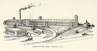 Erwin Cotton Mills Company Mill No. 1 Headquarters Building