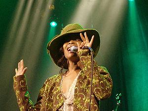 Erykah Badu - Badu in 2005.