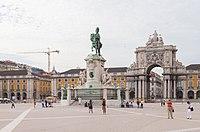 Estatua de Don José I, Plaza del Comercio, Lisboa, Portugal, 2012-05-12, DD 05.JPG