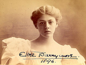 Ethel Barrymore, 1896