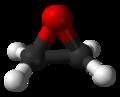 Модель молекулы этилена