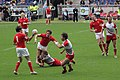 European Sevens 2008, Wales vs Poland, pass.jpg