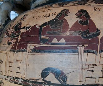 Eurytios Krater - Image: Eurytios Krater Louvre E635 n 2