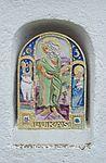 Evangelist shrine Saint Luke 02, St. Ägydius, Fischbach, Styria.jpg