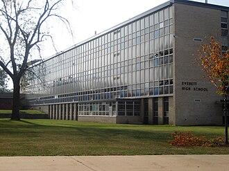 Everett High School (Michigan) - Image: Everett High School Lansing, Michigan 2