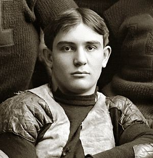 Everett Sweeley - Sweeley cropped from 1900 Michigan Wolverines team photograph
