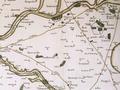Extrait carte de Cassini - Courbehaye Ormoy Loigny Lumeau Terminiers Patay France année 1757 - BNF.png