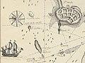 """Extrait d'une carte de St Malo montrant l'île de Cézembre (""""I. St ambre"""") (1700).jpg"""