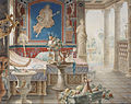 Félix Duban - Architectural Fantasy in the Style of Pompeii - Google Art Project.jpg
