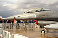 """F-16A Block 20 MLU (15106) de la Esquadra 301 """"Jaguares"""" de la Força Aérea Portuguesa (15535970511).jpg"""