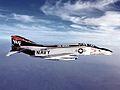 F-4N Phantom II of VF-161 in flight c1975.jpg