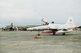 Philippine Air Force - F-5, now retired from the Philippine Air Force