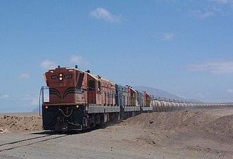 Rail transport in Bolivia - Current Ferrocarril de Antofagasta a Bolivia dates back to 1873