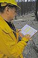 FEMA - 35106 - Firefighter surveys damage in New Mexico.jpg