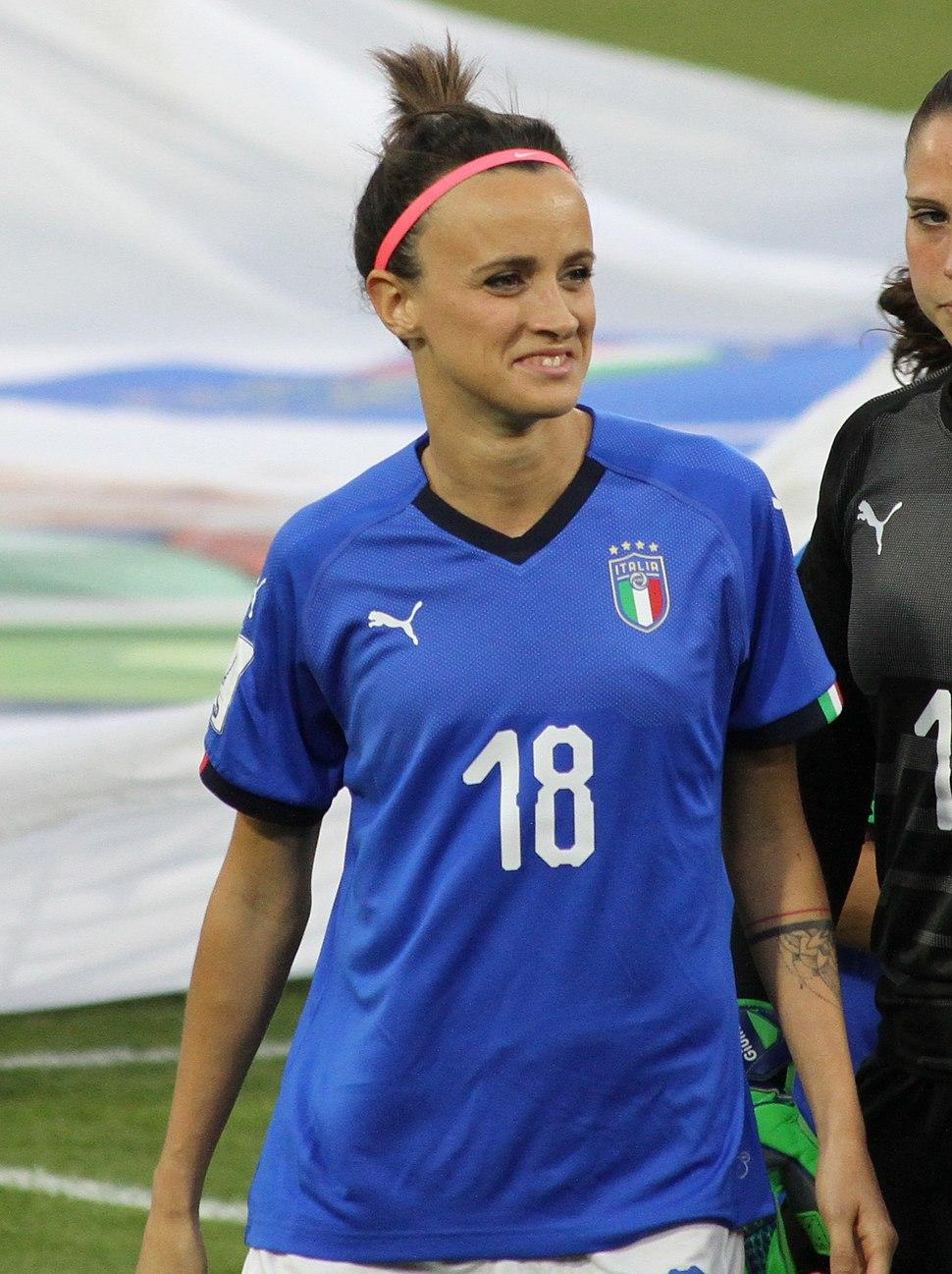 FIFA Women's World Cup Qualification Italy - Belgium, 2018-04-10 9977-001