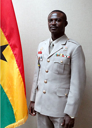 Border Guard Unit - Sergeant Major and Chief Warrant Officer Dickson Owusu; the current Director-general of the BGU (Border Guard Unit)