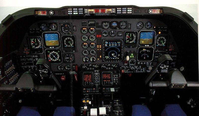 FTS T-1A Cockpit USAF