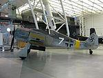 FW-190 fighter bomber at the Steven F. Udvar-Hazy Center.JPG