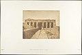 Façade du Temple d'Athor à Dendérah (Tentyris) MET DP131853.jpg