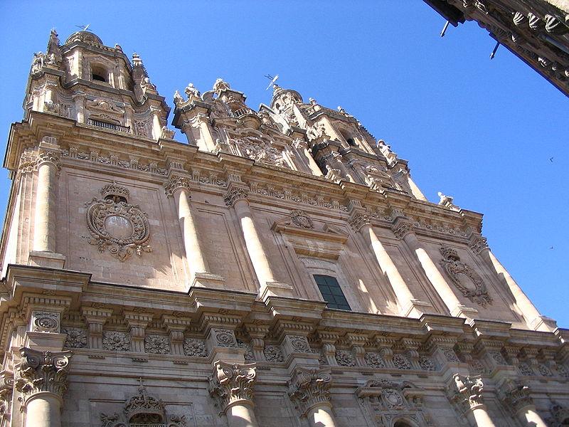 File:Fachada de la Iglesia de la Clerecía, Salamanca.JPG