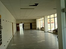 lobby before rebuilding