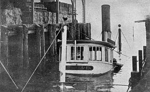 Fairhaven (sternwheeler) - Image: Fairhaven sunk